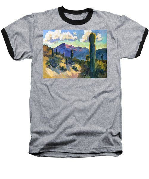 Late Afternoon Tucson Baseball T-Shirt by Diane McClary