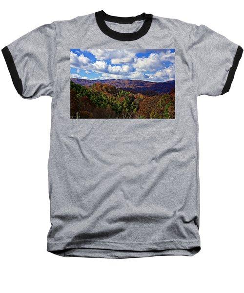 Late Autumn Beauty Baseball T-Shirt by Tom Culver
