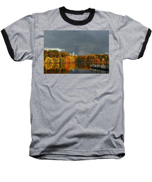 Late Autumn Storm Baseball T-Shirt