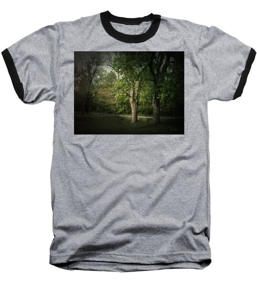 Baseball T-Shirt featuring the photograph Late Day Drive by Cynthia Lassiter