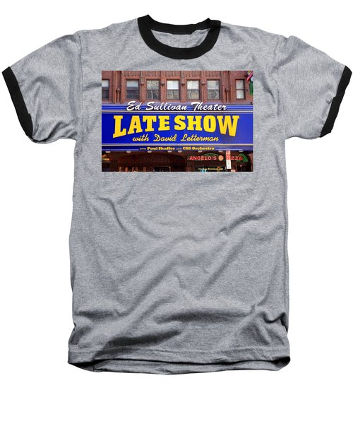 Late Show New York Baseball T-Shirt