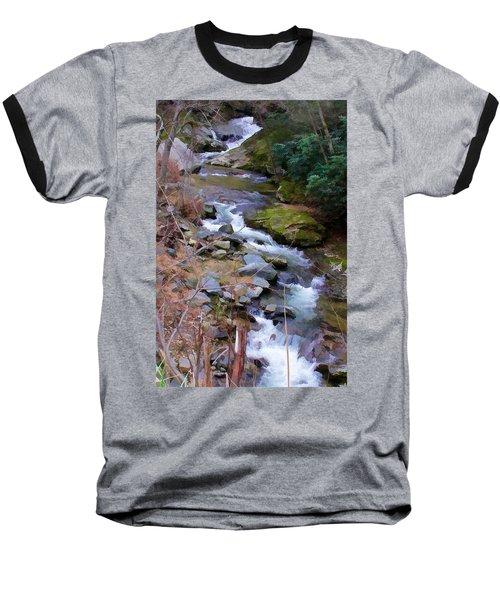 Laurel Creek  Baseball T-Shirt by Tom Culver