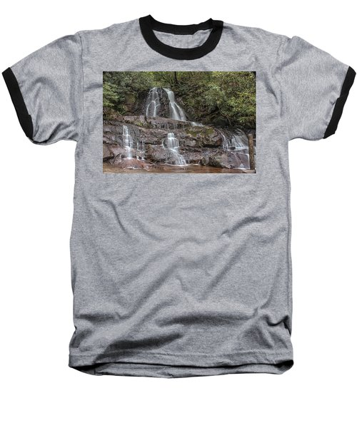 Laurel Falls - Great Smoky Mountains National Park Baseball T-Shirt