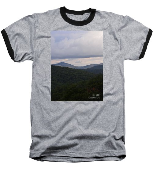Baseball T-Shirt featuring the photograph Laurel Fork Overlook 1 by Randy Bodkins