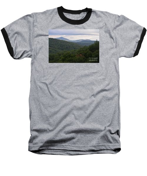 Baseball T-Shirt featuring the photograph Laurel Fork Overlook II by Randy Bodkins