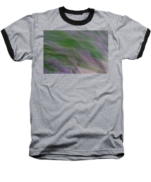 Lavendar Fields Baseball T-Shirt