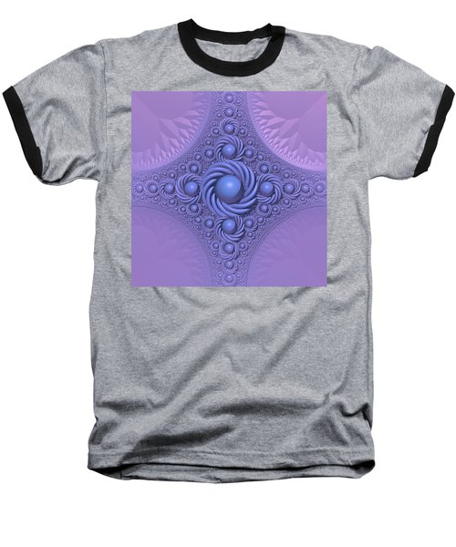 Lavender Beauty Baseball T-Shirt by Lyle Hatch