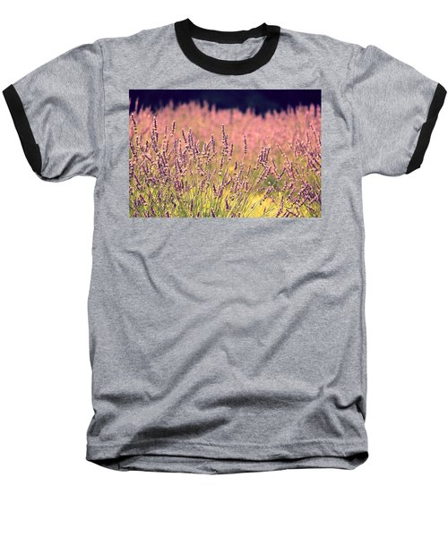 Baseball T-Shirt featuring the photograph Lavender Dreams by Lynn Sprowl