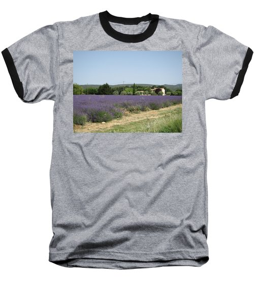 Lavender Farm Baseball T-Shirt