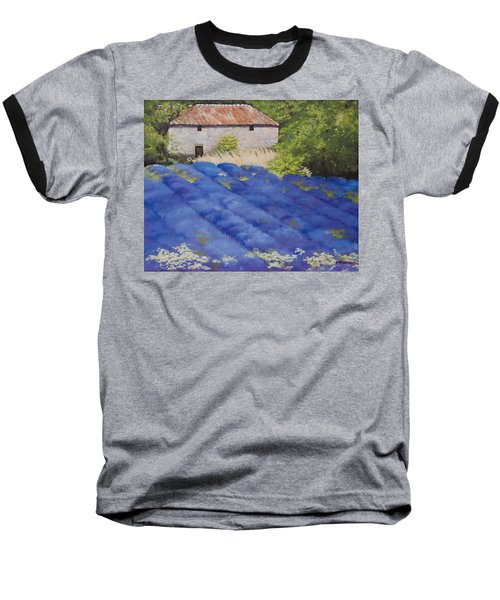 Lavender Fields Baseball T-Shirt