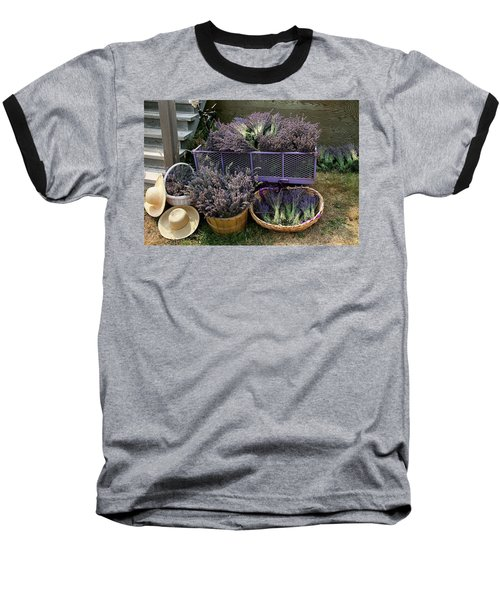 Lavender Harvest Baseball T-Shirt