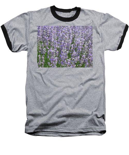 Baseball T-Shirt featuring the photograph Lavender Hues by Pema Hou