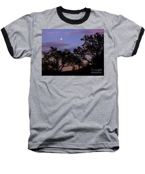 Lavender Moon Twilight Baseball T-Shirt