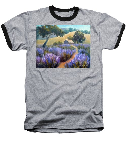 Lavender Path Baseball T-Shirt