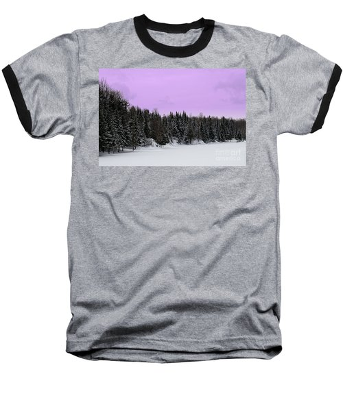 Baseball T-Shirt featuring the photograph Lavender Skies by Bianca Nadeau