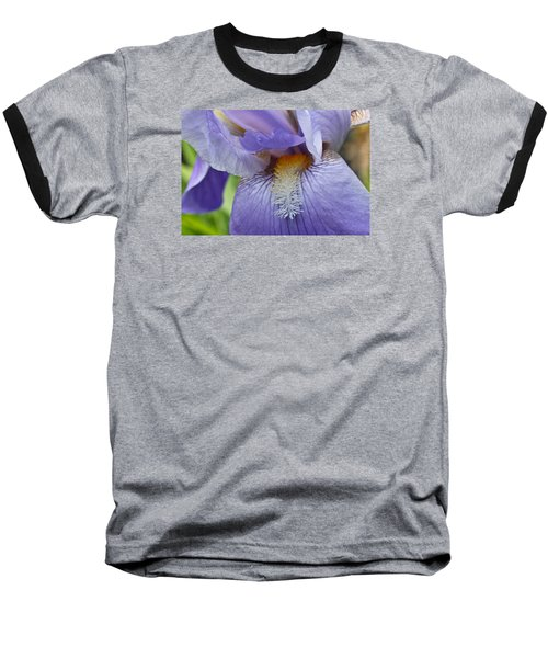 Baseball T-Shirt featuring the photograph Lavish Iris by Julie Andel