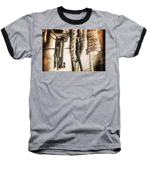 Law And Order Baseball T-Shirt