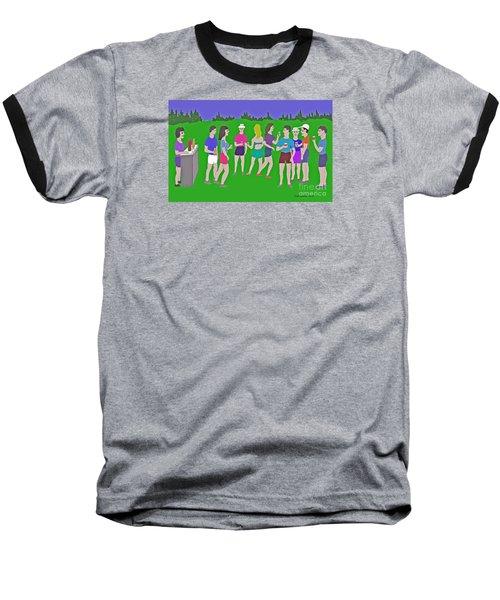 Lawn Party  Baseball T-Shirt