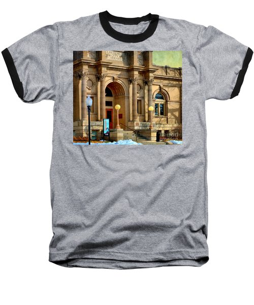 Lawrence City Library Baseball T-Shirt