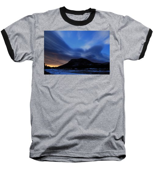 Layered Sunrise Baseball T-Shirt