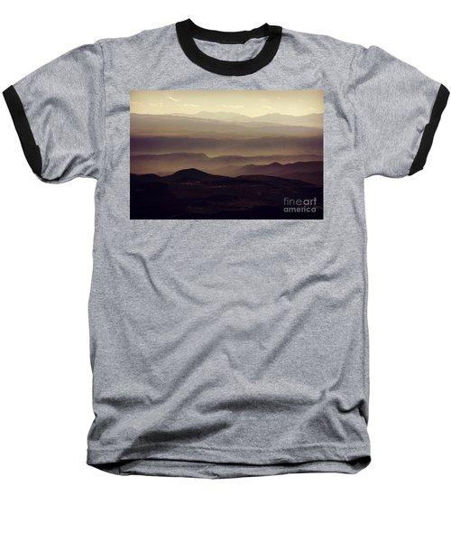 Layers Of Time Baseball T-Shirt