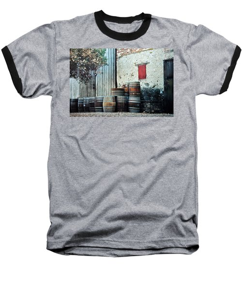 Baseball T-Shirt featuring the photograph Lazy Afternoon At The Winery by Diane Alexander