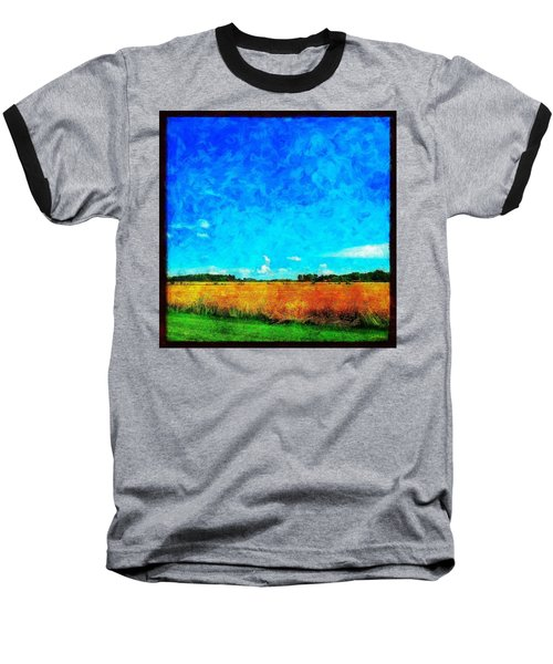 Lazy Clouds In The Summer Sun Baseball T-Shirt