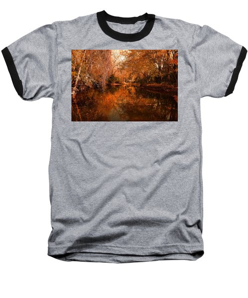 Lazy River Autumn Baseball T-Shirt