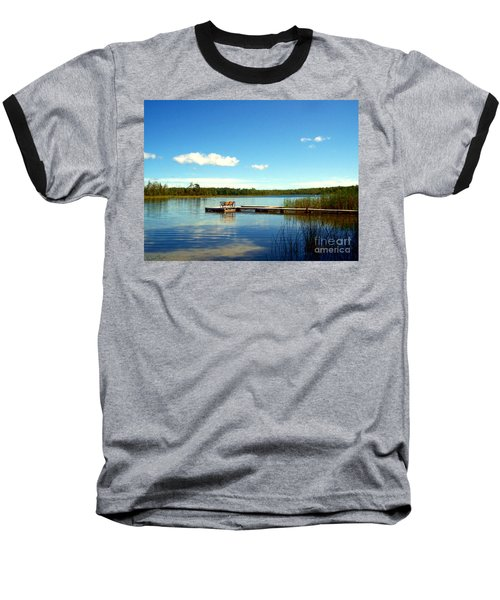 Lazy Summer Day Baseball T-Shirt