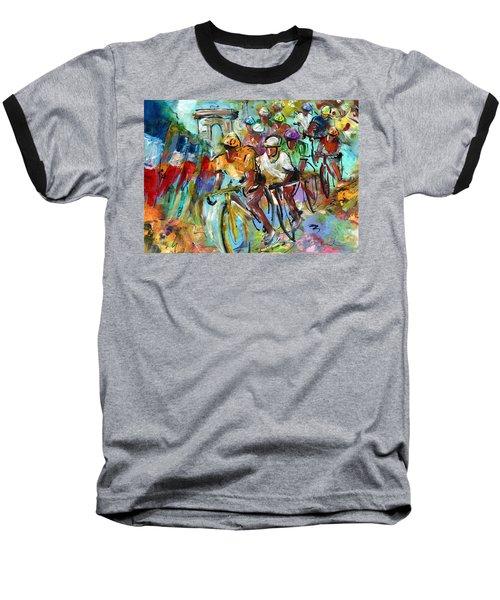 Le Tour De France Madness 02 Baseball T-Shirt