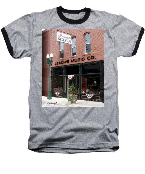 Leach's Music Baseball T-Shirt