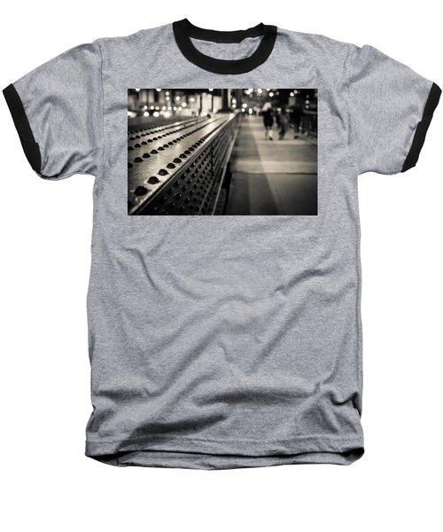 Leading Across Baseball T-Shirt by Melinda Ledsome