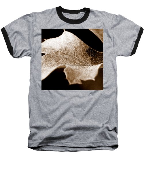 Baseball T-Shirt featuring the photograph Leaf Collage 1 by Lauren Radke