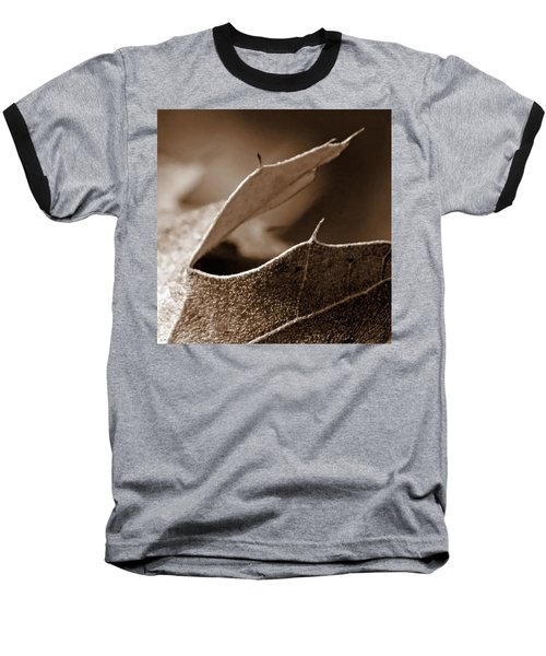 Baseball T-Shirt featuring the photograph Leaf Collage 2 by Lauren Radke