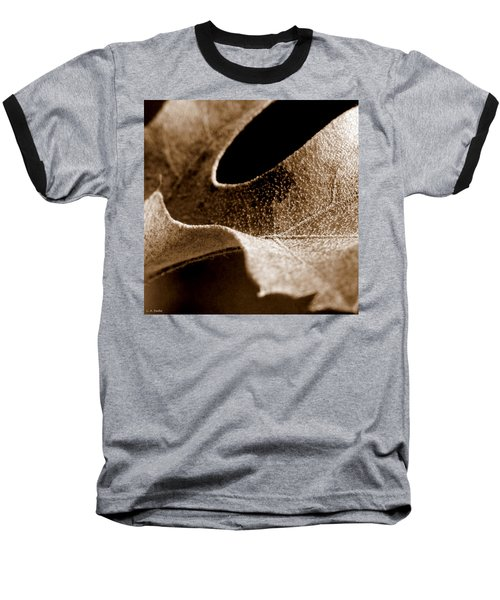 Baseball T-Shirt featuring the photograph Leaf Collage 3 by Lauren Radke
