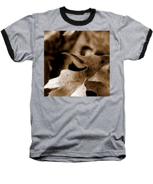 Baseball T-Shirt featuring the photograph Leaf Collage 4 by Lauren Radke