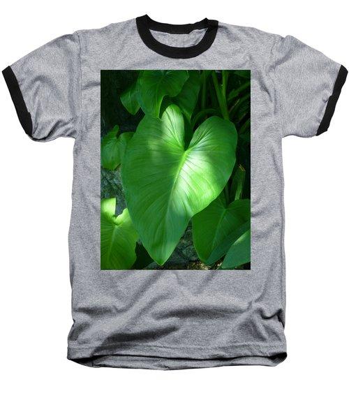 Leaf Heart Baseball T-Shirt