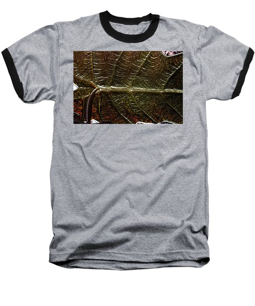 Leafage Baseball T-Shirt by Richard Thomas