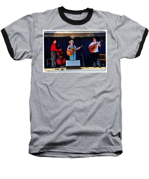 Baseball T-Shirt featuring the photograph Leah And Her J Walkers by Mike Martin