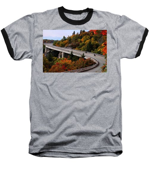 Lean In For A Ride Baseball T-Shirt