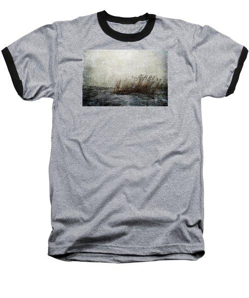 Leaning Straws Baseball T-Shirt by Randi Grace Nilsberg
