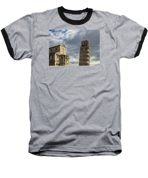 Leaning Tower And Duomo Di Pisa Baseball T-Shirt