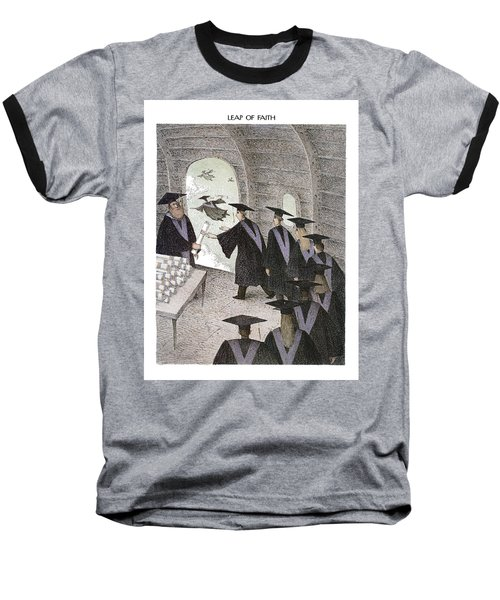 Leap Of Faith Baseball T-Shirt