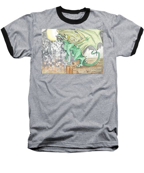 Leaping Dragon Baseball T-Shirt