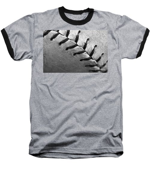 Leather Scars Baseball T-Shirt