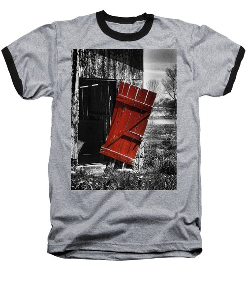 Leave The Door Open Baseball T-Shirt