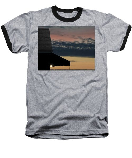 Leave The Light On Baseball T-Shirt