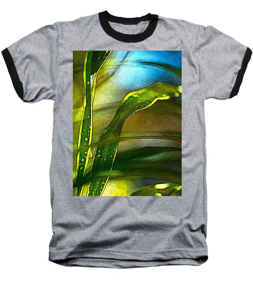 Leaves And Sky Baseball T-Shirt