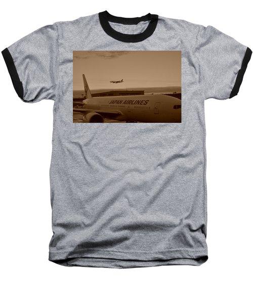 Leaving Japan Baseball T-Shirt
