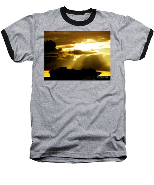 Baseball T-Shirt featuring the photograph Leaving Kona by David Lawson
